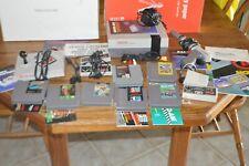 Nintendo System (1985) W/Wireless Controller, Advantage Controller & 7 Games