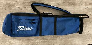 Titleist Sunday Light Weight Carry Bag - 1 Strap -  2-Way Top - 2 Side Pockets