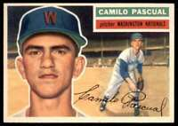 1956 Topps Nm Camilo Pasqual Washington Nationals #98