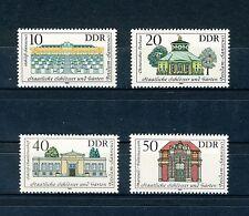 1983 Satz  postfrisch Mi-Nr.   2826 - 2829  Potsdam -  Sanssouci