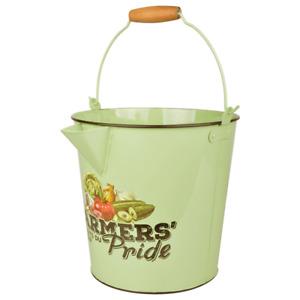 Gießeimer, English Garden Bucket, Zinc Bucket, Bauernstolz Farmers Pride 304.3oz