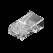 10x Conector RJ-45 RJ45 Ethernet CAT5 CAT5E - MODULAR PLUG NETWORK LAN CONNECTOR