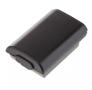 Akku Batterie Gehäuse Deckel Cover für Xbox 360 Controller schwarz Fach Behälter