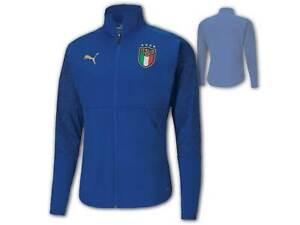 Puma FIGC Italien Stadium Jacket blau Italia Jacke Azzurri Squadra Azzurra S-3XL