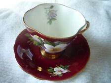 Clarence Bone China Tea Cup and Saucer Set England