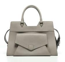 PROENZA SCHOULER Large PS13 Satchel Grey and Black Leather Shoulder Bag