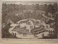 «la Salle des Dances a Versailles comme elle est en cette presante année 1687» D
