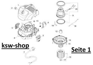 Zubehörset Ersatzteil geeignet für Kärcher WD 5.470