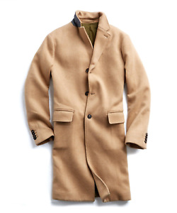 Todd Snyder Italian Wool Cashmere Camel Topcoat - Size XS