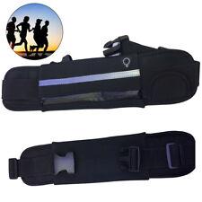Unisex Sports Waist & Bum Bag Jogging Travel Belt Pouch Keys Mobile Cash S247