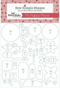 My Happy Place Sew Shapes 38 Templates Lori Holt Bee In My Bonnet