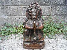 Antique Asian bronze Buddha - Chinese bronze statue - heavy bronze buddha