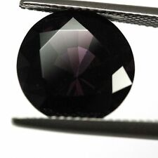GIA certified natural loose untreated Round cut dark Purple Spinel 8.66ct