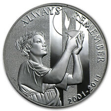 2011-W 9/11 National Medal Proof (w/Box & COA) - SKU #73647