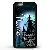 Witch magic witches quot phrase witchcraft personalised name phone case cover