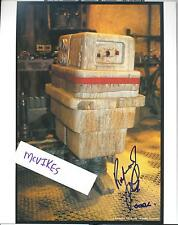 Raymond Griffiths Star Wars Gonk Droid Autographed Signed 8x10 COA #2