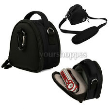 Black Digital Cameras Bag Case For Sony Cyber-shot DSC-WX150 DSC-RX100