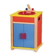 Viga Children's/Kids Wooden Kitchen Sink Unit