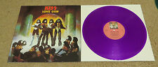 KISS LOVE GUN JAPANESE ORIGINALS COLORED VINYL LP