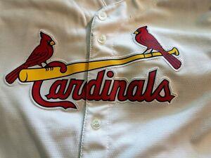 St. Louis Cardinals Youth Replica Baseball Jersey Medium 10-12