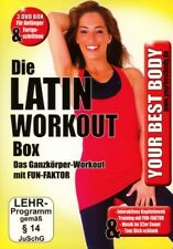 ANDREA/FITNESS BODOR - YOUR BEST BODY/3 DVD LATIN WORKOUT BOX 3 DVD NEU