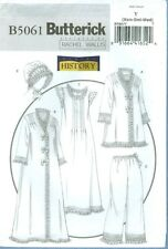 BUTTERICK SEWING PATTERN 5061 OOP MISSES HISTORICAL NIGHTWEAR SIZES XS-M