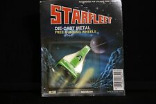 Starfleet Plane Die-Cast Metal Free Running Wheels LARAMI Vintage Toy green