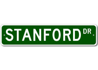 PPWG1002 WELCOME STANFORD/'S GARAGE Chic Sign man cave decor Funny Gift