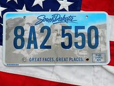 SOUTH DAKOTA license licence plate plates USA NUMBER AMERICAN REGISTRATION