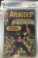 The Avengers #16 (May 1965, Marvel) Look! PGX not CGC CBCS MCU Universe!!