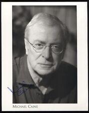Michael Caine Signed 8x10 Photo Vintage Autographed Photograph Batman Alfred