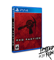 Red Faction Limited Run Games #281 Playstation 4 PS4 New And Sealed