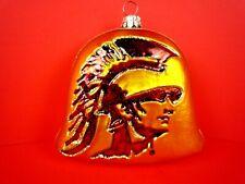 Usc Trojans Glasscots By Slavic Treasures Blown Glass Christmas Ornament