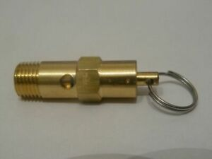 "1/4"" BSP AIR pressure SAFETY VALVE 8.0 / 8.8 / 10.0 / 11.0 / 12.0 / 16.0 BAR"