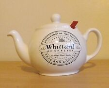 WHITTARD OF CHELSEA Chatsford White Large InfusionTeapot With Filters