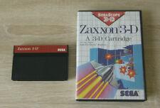 Zaxxon 3D - SEGA Master System Game Cartridge in box - SMS mastersystem