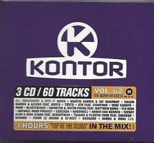 KONTOR - TOP OF THE CLUBS VOL. 62 * NEW 3CD'S 2014 * NEU