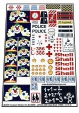 Lego® Custom Pre-Cut Sticker for set 6000 - LEGOLAND Idea Book (1980)