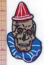 Skull Clown embroidered patch Insane Clown Posse Death John ICP Wayne Pogo Gacy