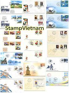 40 BEAUTIFUL FDC VIETNAM