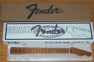 "Fender® Roasted Maple Tele Neck~22 Jumbo Frets~12"" Radius~Flat Oval~Brand New"