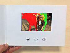 "Recordable Video Greeting Card - 5"" HD Screen - Blank Talking A5 256mb"