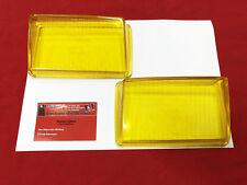 Glas Nebelscheinwerfer gelb Porsche 928 (78-86) gelbglas Paar NOS BOSCH (-097)