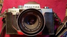 Praktica MTL3 Film camera with Carl Zeiss 2.8/50mm lens.
