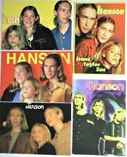 5 Hanson. Rock/Pop/Film Postcards 14
