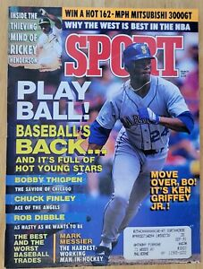 1991 SPORT MAGAZINE-MARCH ISSUE-KEN GRIFFEY JR COVER-EXCELLENT CONDITION