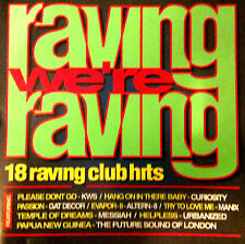 RAVING WERE RAVING - 1 X CD UNMIXED 90S HOUSE DANCE TRANCE OLDSKOOL RAVE CDJ DJ