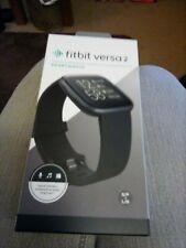 Fitbit Versa Smartwatch, Large - Black