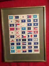 Nicely Framed 1976 Commemorative Bicentennial Stamps - 13¢ - All 50 States