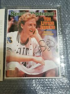 Larry Bird Autographed Signed 1986 Sports Illustrated Cover - UDA Upper Deck COA